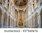 great hall ballroom in... | Shutterstock . vector #457560676