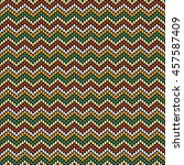 vector seamless pattern with...   Shutterstock .eps vector #457587409