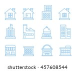 building icons  outline icons