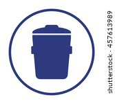 trash can    icon   isolated....