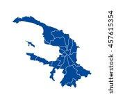 map of saint petersburg | Shutterstock .eps vector #457615354