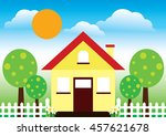 Vector Of Modern House For...
