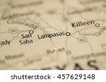 lampasas. texas. usa   Shutterstock . vector #457629148