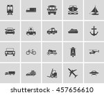 transportation basic icons