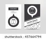 short pant doodle | Shutterstock .eps vector #457664794