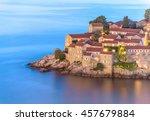 night closeup view to sveti... | Shutterstock . vector #457679884