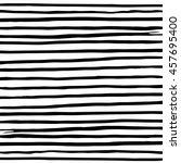 striped vest. pencil stripes.... | Shutterstock .eps vector #457695400