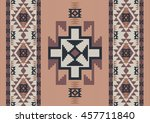 abstract ethnic design folk... | Shutterstock .eps vector #457711840