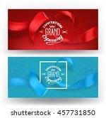 elegant banners for grand... | Shutterstock .eps vector #457731850