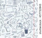 back to school  illustration....   Shutterstock . vector #457732843