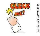 click me freehand drawn cartoon ... | Shutterstock . vector #457734250