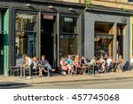 glasgow  scotland   july 21 ... | Shutterstock . vector #457745068