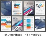 abstract vector backgrounds and ... | Shutterstock .eps vector #457745998