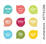modern badges and labels... | Shutterstock .eps vector #457761286