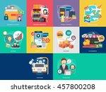 business concept design | Shutterstock .eps vector #457800208