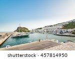 marina del este  spain   july... | Shutterstock . vector #457814950