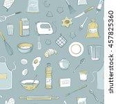 seamless vectorial pattern... | Shutterstock .eps vector #457825360