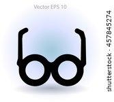 glasses vector illustration | Shutterstock .eps vector #457845274