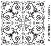 Hand Drawing Pattern For Tile...