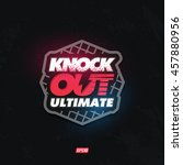 modern professional knockout... | Shutterstock .eps vector #457880956