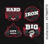 modern professional logo design ... | Shutterstock .eps vector #457880974