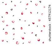 delicate feminine white... | Shutterstock .eps vector #457912174