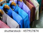 shirt made of silk | Shutterstock . vector #457917874