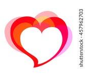 love heart | Shutterstock .eps vector #457962703