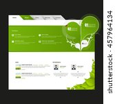modern eco website template....