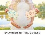 Pregnant Couple Choosing Gende...