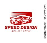 sports car icon vector... | Shutterstock .eps vector #457995994