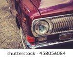 Antique Vintage Retro Red...