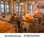 amsterdam  the netherlands ... | Shutterstock . vector #458056960