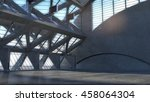 abstract empty space concrete... | Shutterstock . vector #458064304