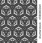 graphic seamless abstract... | Shutterstock . vector #458080264