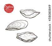 vector sketch of the marine... | Shutterstock .eps vector #458080849
