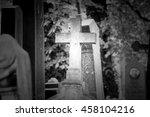Cross Statue. Olsany Cemetery ...