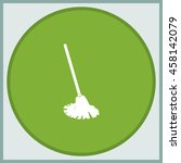 mop icon. floor cleaning object. | Shutterstock .eps vector #458142079
