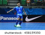 Small photo of BANGKOK THAILAND-JULY17:THANATORN SANTANAPRASIT of Chonburi Bluewave in action during AFC FUTSAL CLUB CHAMPIONSHIP2016 Match Chonburi Bluewave and Nagoya Oceans at Bangkok Arena Stadium on July17,2016