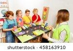 Happy Kids Teaching Traffic...