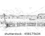 russia. saint petersburg....   Shutterstock .eps vector #458175634