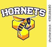modern professional hornets... | Shutterstock .eps vector #458186680