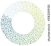 circle network made of... | Shutterstock .eps vector #458200930
