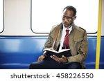 african descent business... | Shutterstock . vector #458226550