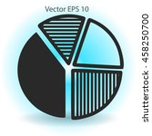 the diagram   a visual aid... | Shutterstock .eps vector #458250700