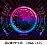 speedometer. vector | Shutterstock .eps vector #458273680