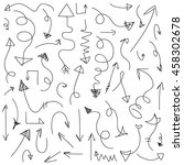set vector illustration of... | Shutterstock .eps vector #458302678