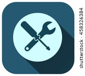 tool icon  wrench and...