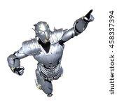 3d cg rendering of a robot | Shutterstock . vector #458337394