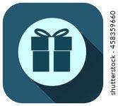 gift box icon vector logo for...